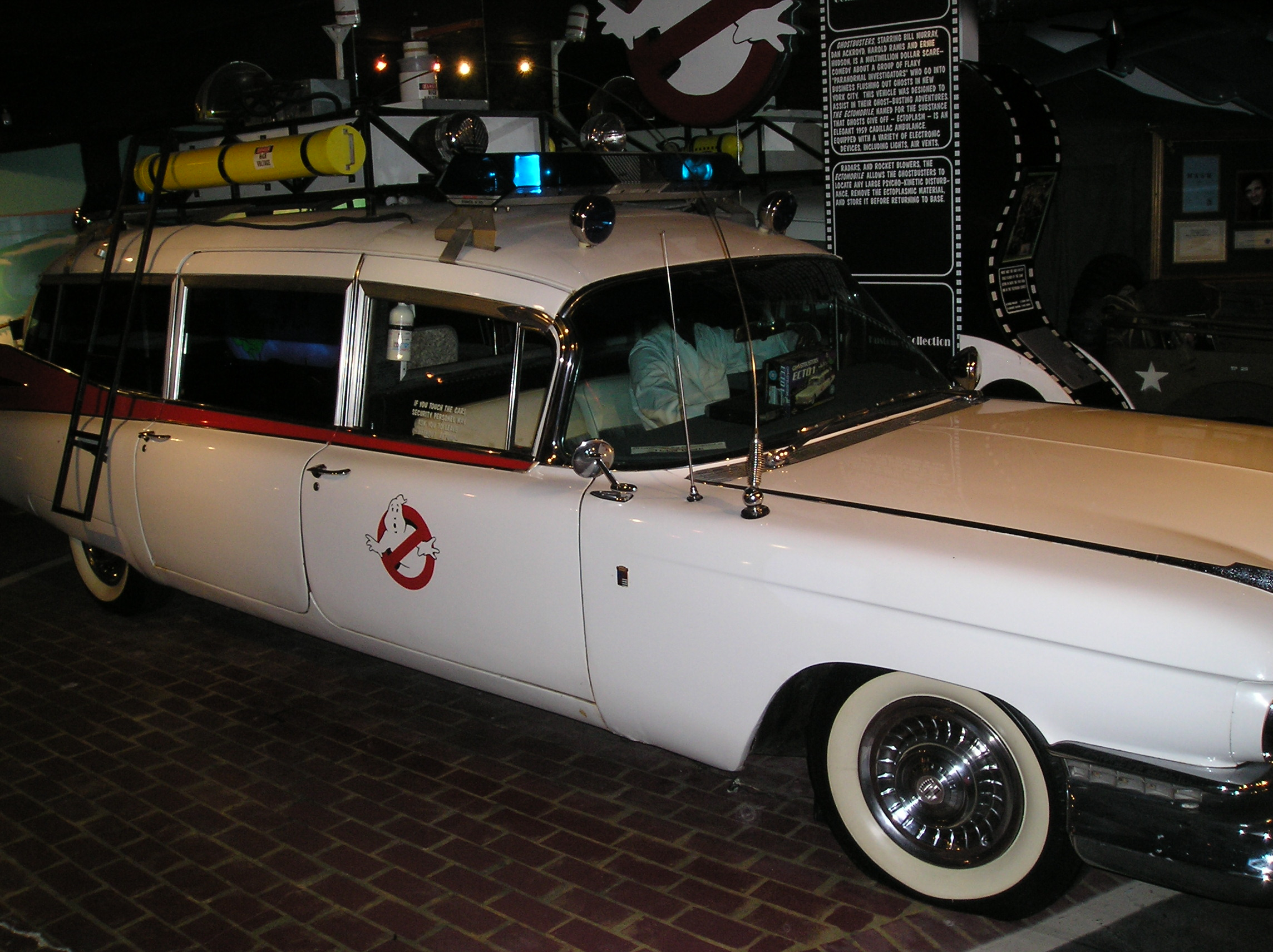 1959 Cadillac Ambulance, Bill